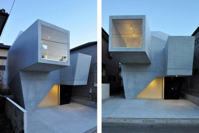 Modern House Minimalist Design modern minimalist design - a home and an art gallery | founterior