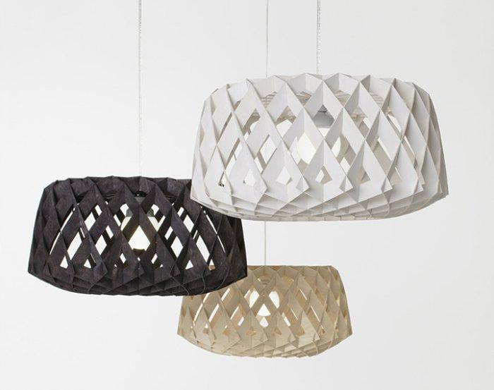 Can you fit such kind of paper chandelier in your interior design?