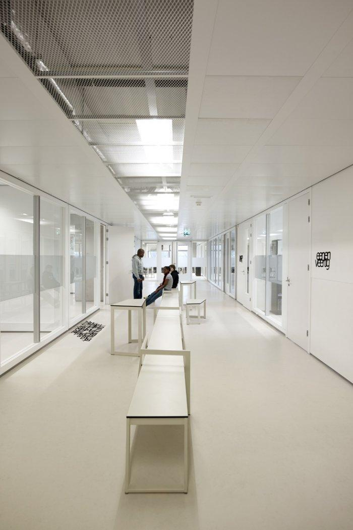 The main corridor in the School in the Netherlands