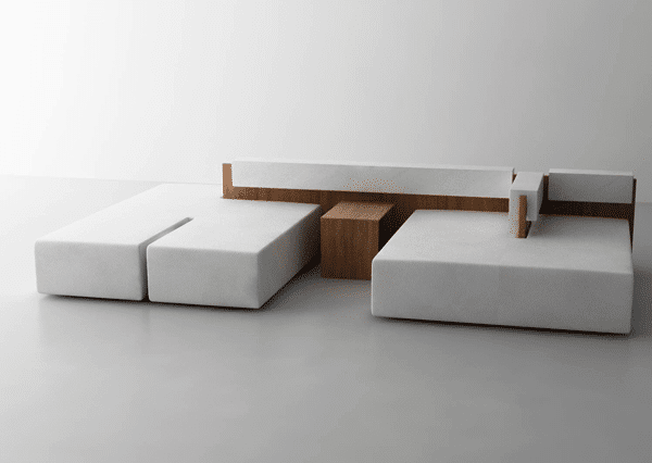 Simplicity is the main specification of this sofa.