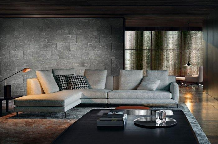 The designers in Minotti are able to produce absolutely stylish home furniture.