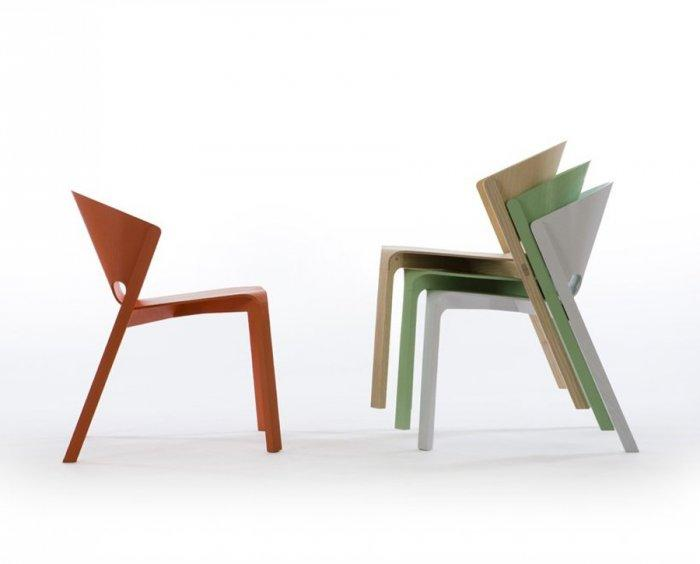 Unique Chairs by Hubert.