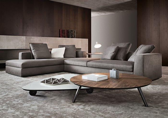 Modern home furniture for living rooms by minotti for Unique couches living room furniture