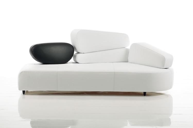 White Modern Sofa By Bruehl