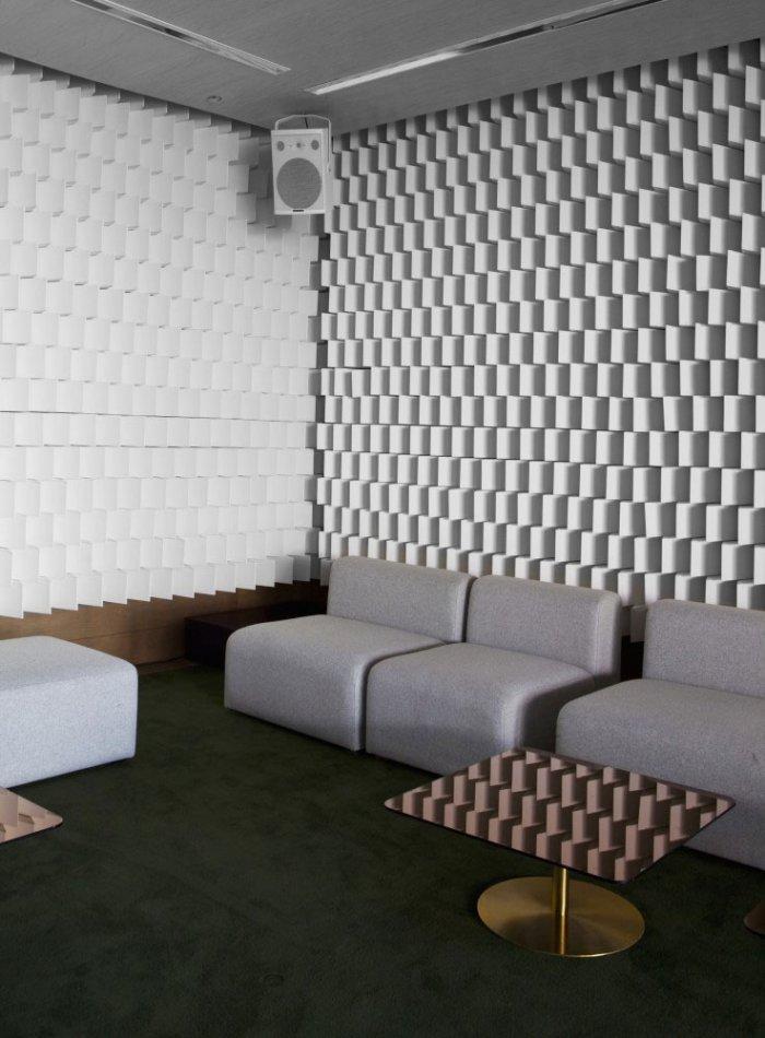Cafe - Modern Club Interior Design - Electric, Paris