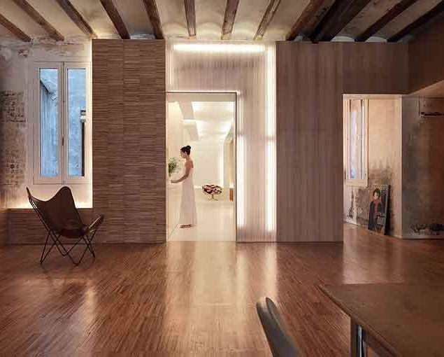 Spanish apartment – a modern interior design.