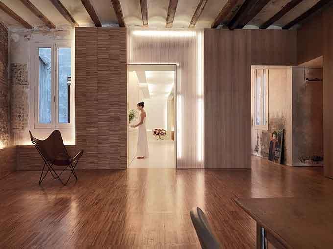 Spanish apartment – a modern interior design.
