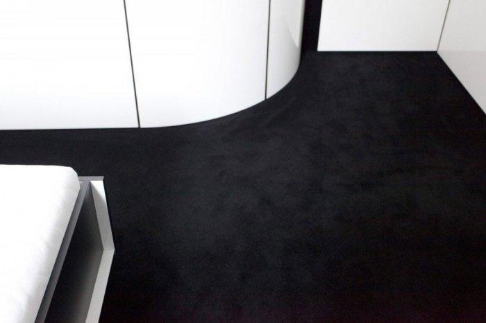Bedroom Carpet - Minimalist Apartment Hosting Inspiring Modern Design