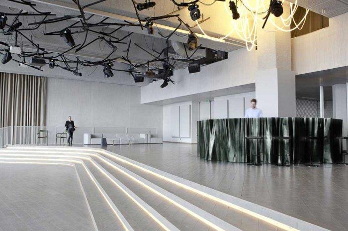 Modern Club Interior Design - Electric, Paris