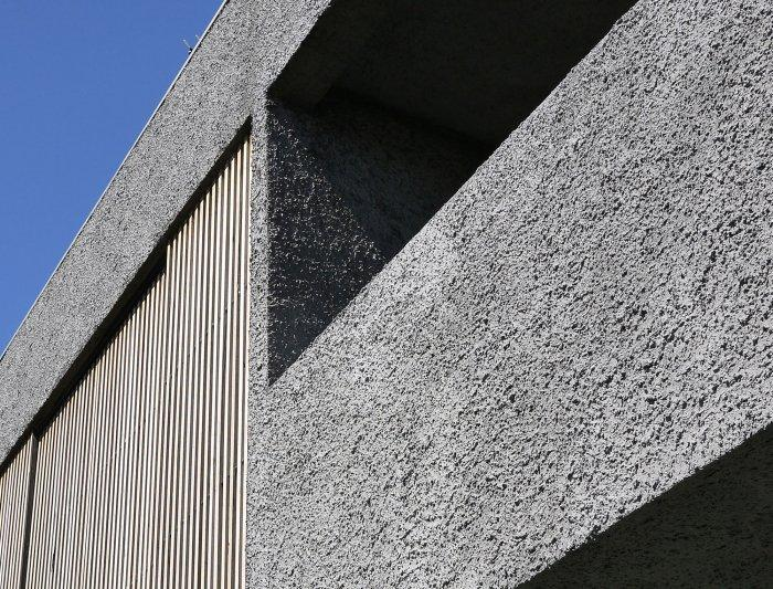 Concrete Facade - Energy Efficient Home Design by Jessica Liew