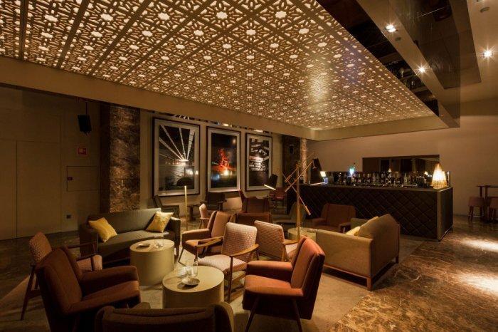 Modern Whiskey Bar Interior Design In Arquitectoss