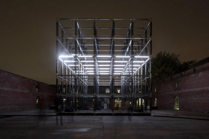 Cube - Origin - High Tech Architectural Installation in NY