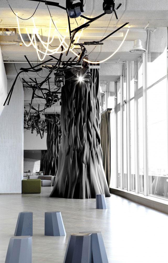 Dancefloor 1 - Modern Club Interior Design - Electric, Paris