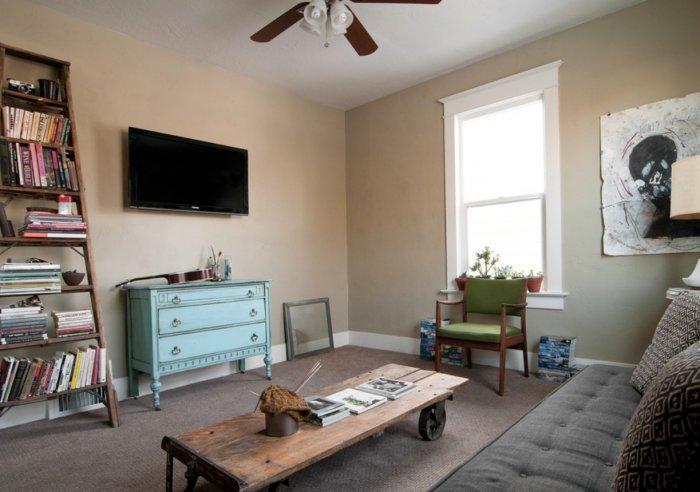 Eclectic Small Apartment Interior Design In Slc Usa
