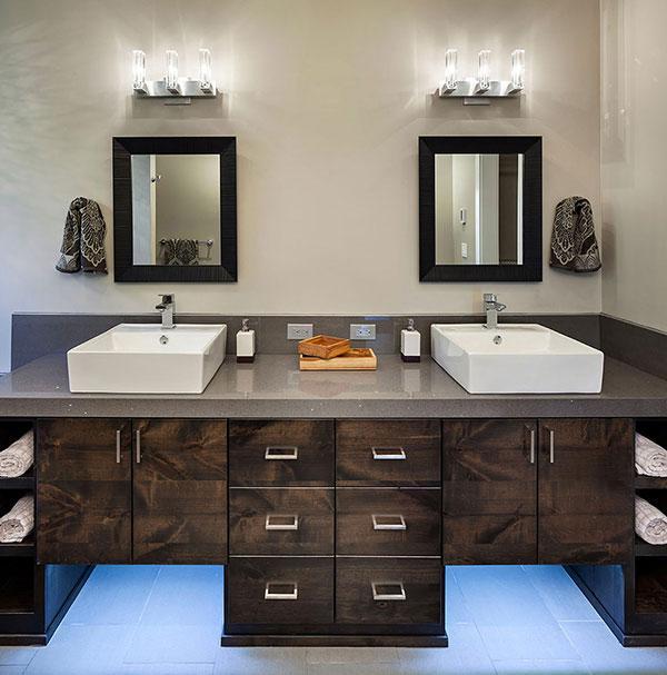 Bathroom - Breathtaking Eclectic Modern House in Oregon, USA