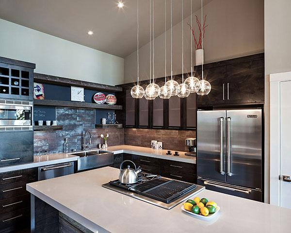 Kitchen Design - Breathtaking Eclectic Modern House in Oregon, USA
