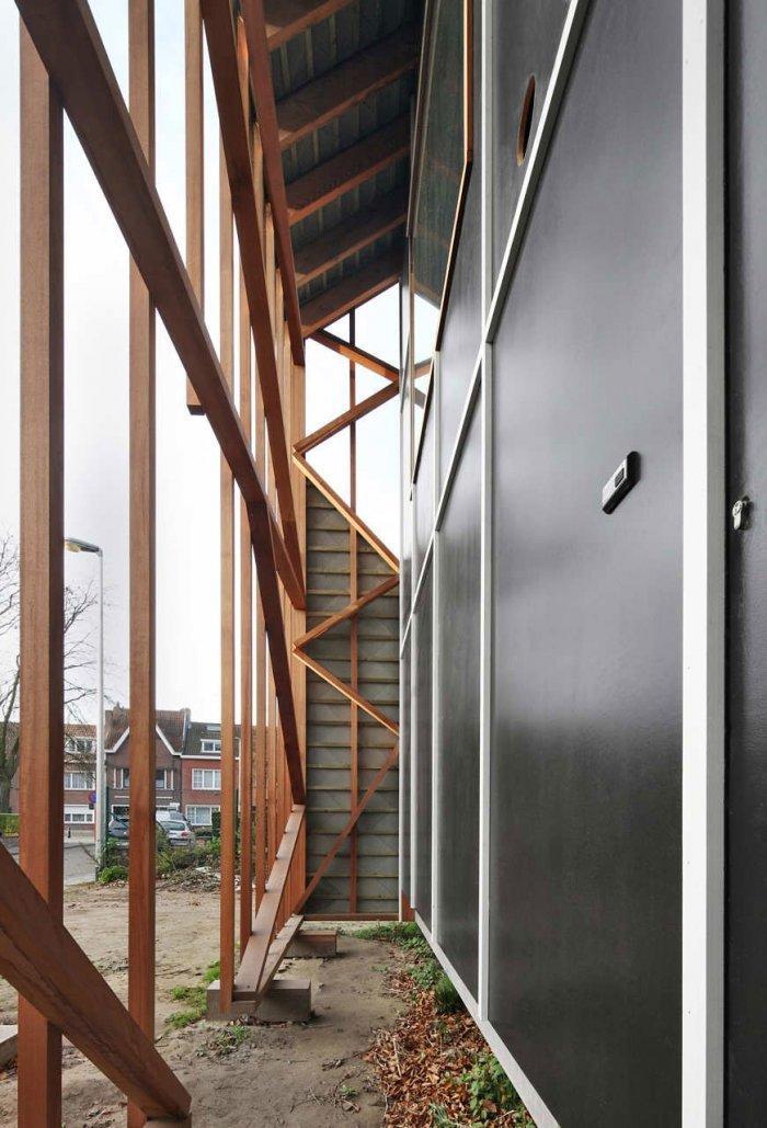 Small Eco Home Architectural Design in Gent, Belgium