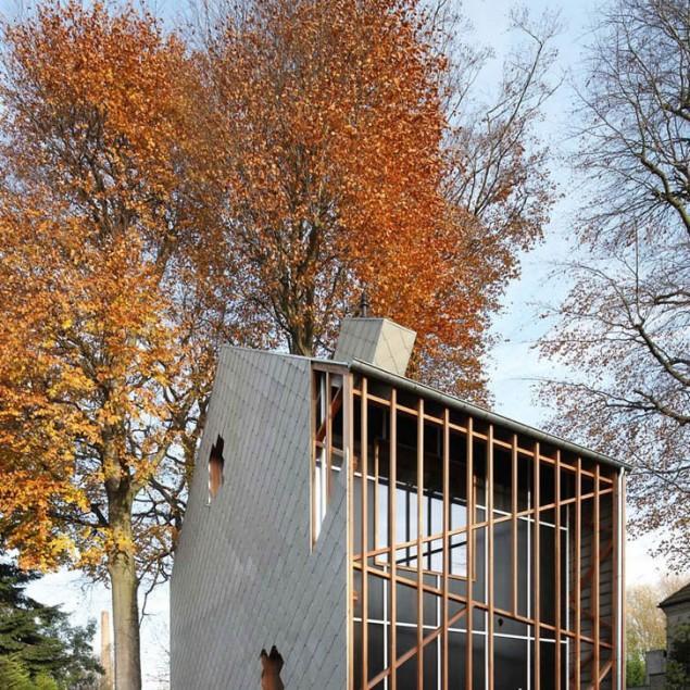 Small Eco House Architectural Design in Gent, Belgium