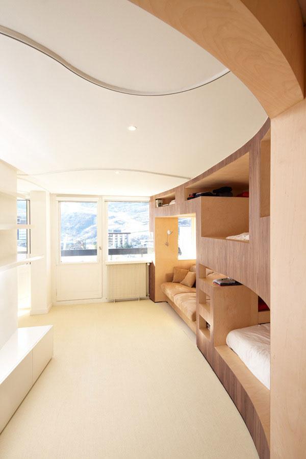 Fresh Apartment - amazing small apartment design in Menuires.