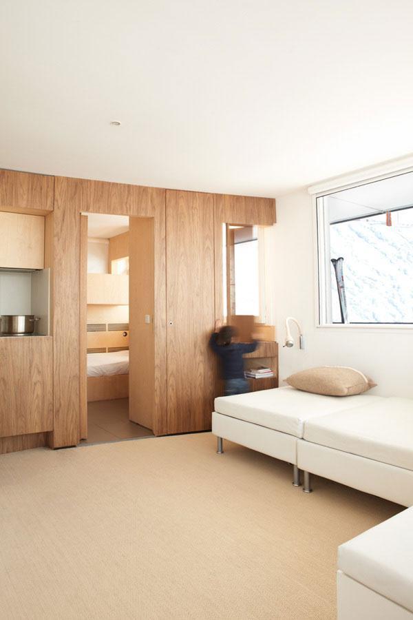 Fresh Apartment 3 - amazing small apartment design in Menuires.