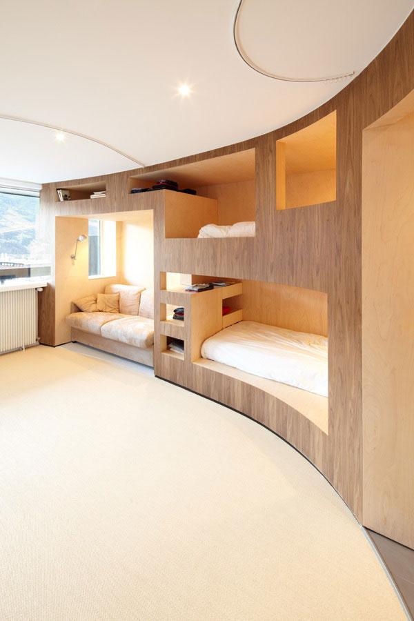 Fresh Apartment 4 - amazing small apartment design in Menuires.