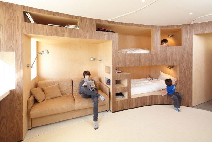 Fresh Apartment 5 - amazing small apartment design in Menuires.