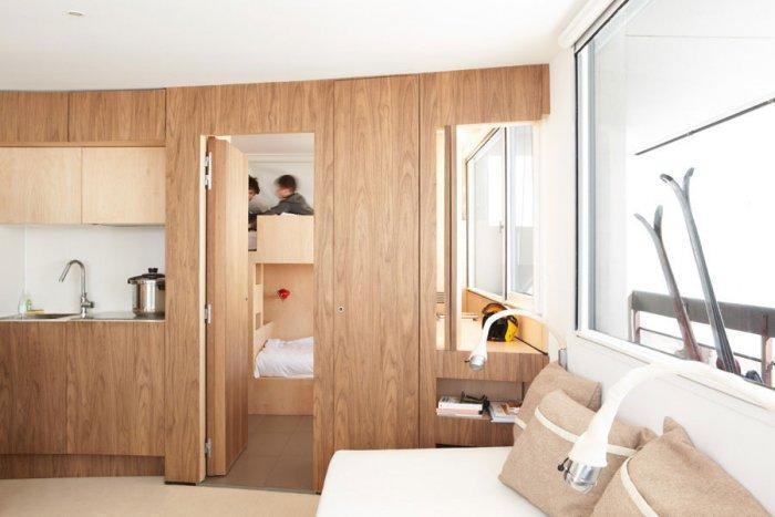 Fresh Apartment 8 - amazing small apartment design in Menuires.