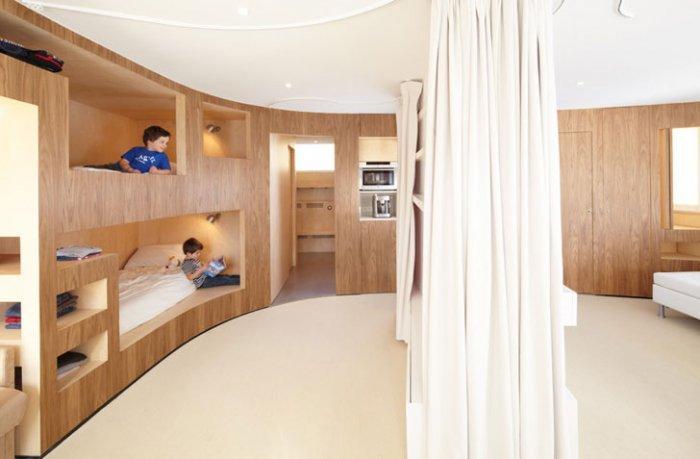 Functional Apartment 1 – amazing small apartment design in Menuires.