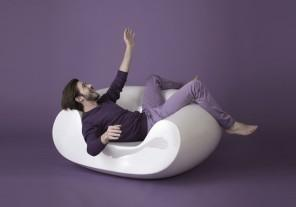 Futuristic design of furniture by Slide.
