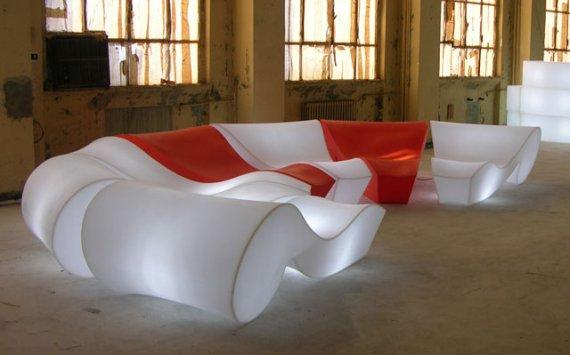 Conceptual Futuristic Home Furniture By Slide Founterior