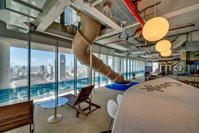 Google Office 14 - The New Ultra Modern Office of Google in Tel Aviv