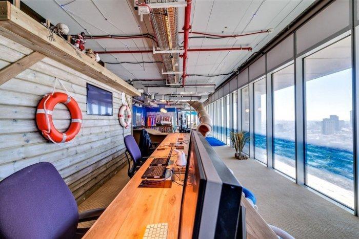 Google Office 15 - The New Ultra Modern Office of Google in Tel Aviv