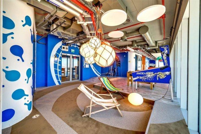 Google Office 16 - The New Ultra Modern Office of Google in Tel Aviv