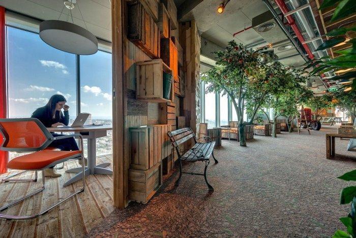 Google Office 19 - The New Ultra Modern Office of Google in Tel Aviv