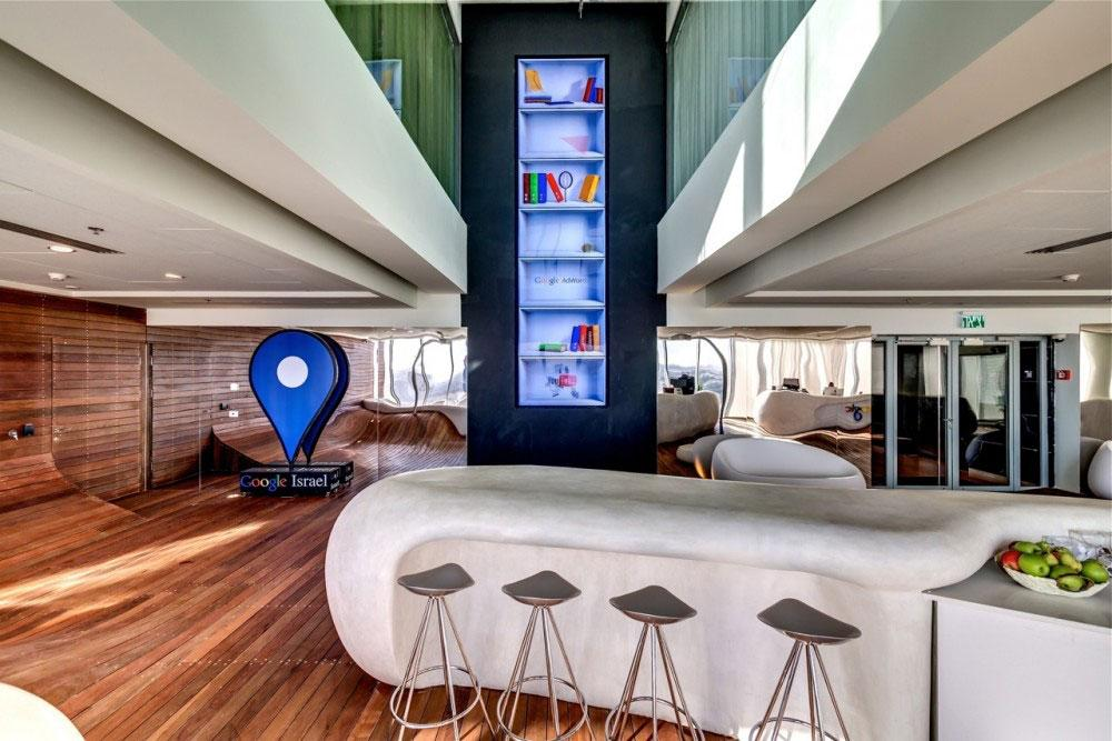 Google Office 9 - The New Ultra Modern Office of Google in Tel Aviv