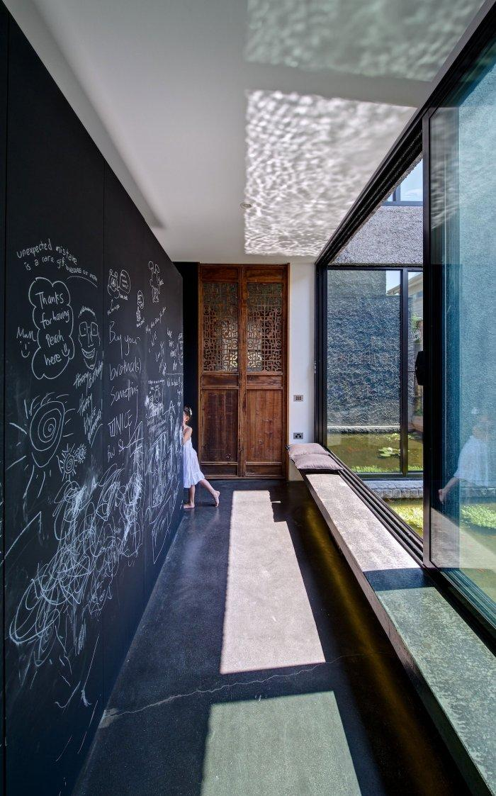 Hallway Windows - Energy Efficient Home Design by Jessica Liew