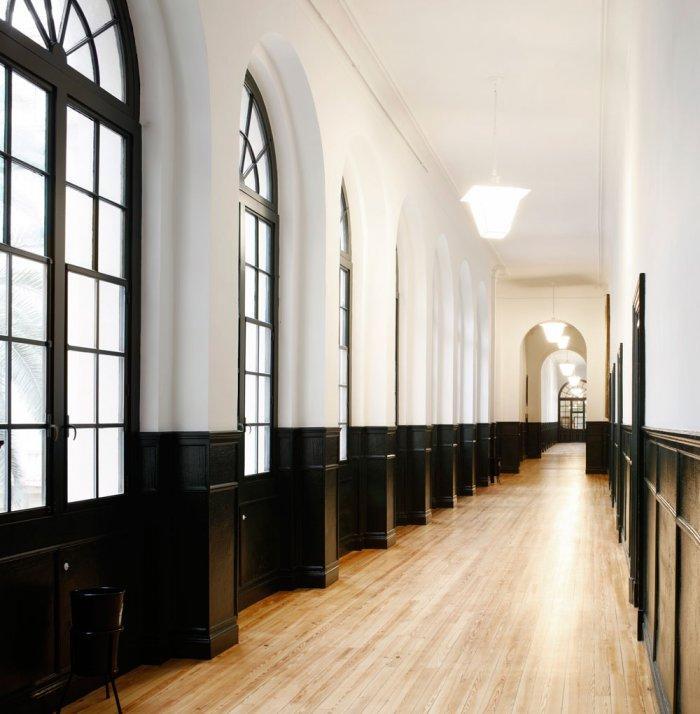 Hallway - University of Duesto with Renewed Interior Design
