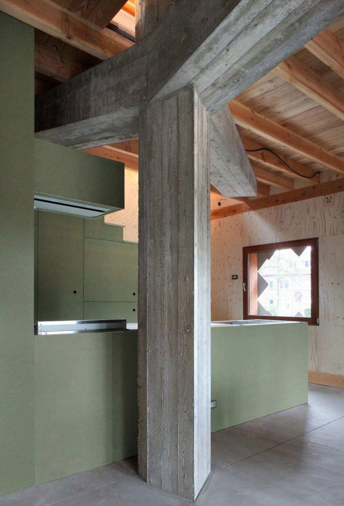 Home Interior Design - Small Eco House Architectural Design in Gent, Belgium