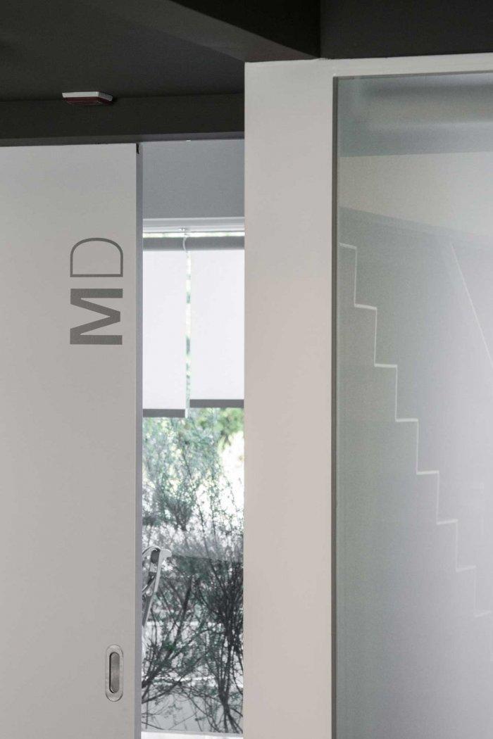 Interior Door - Stylish and Modern Dental Studio Design in Portugal
