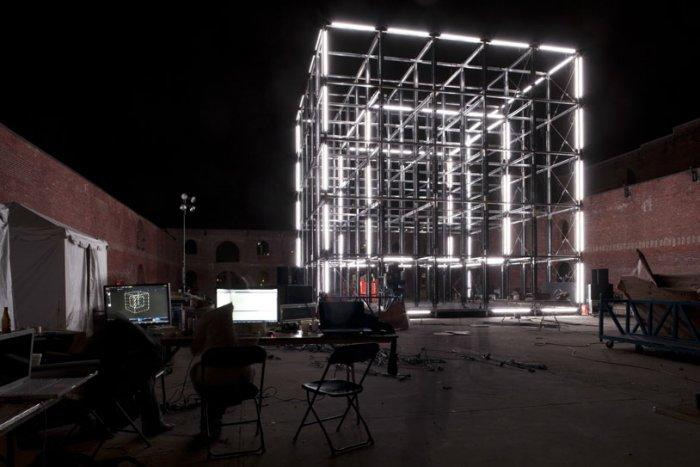 Light Construction - Origin - High Tech Architectural Installation in NY