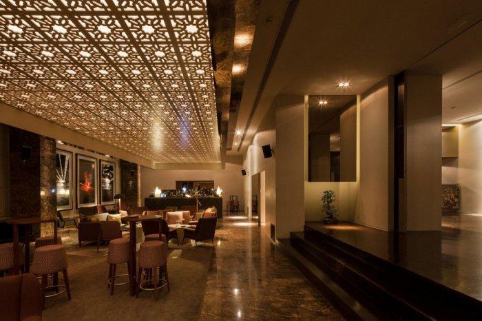Main Entrance - Modern Whiskey Bar Interior Design in Arquitectoss