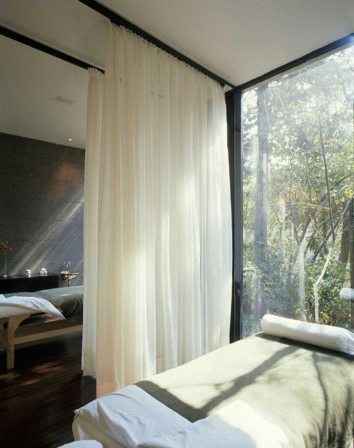 Massage Table - Modern Bodywork Center Architecural Design in Mexico