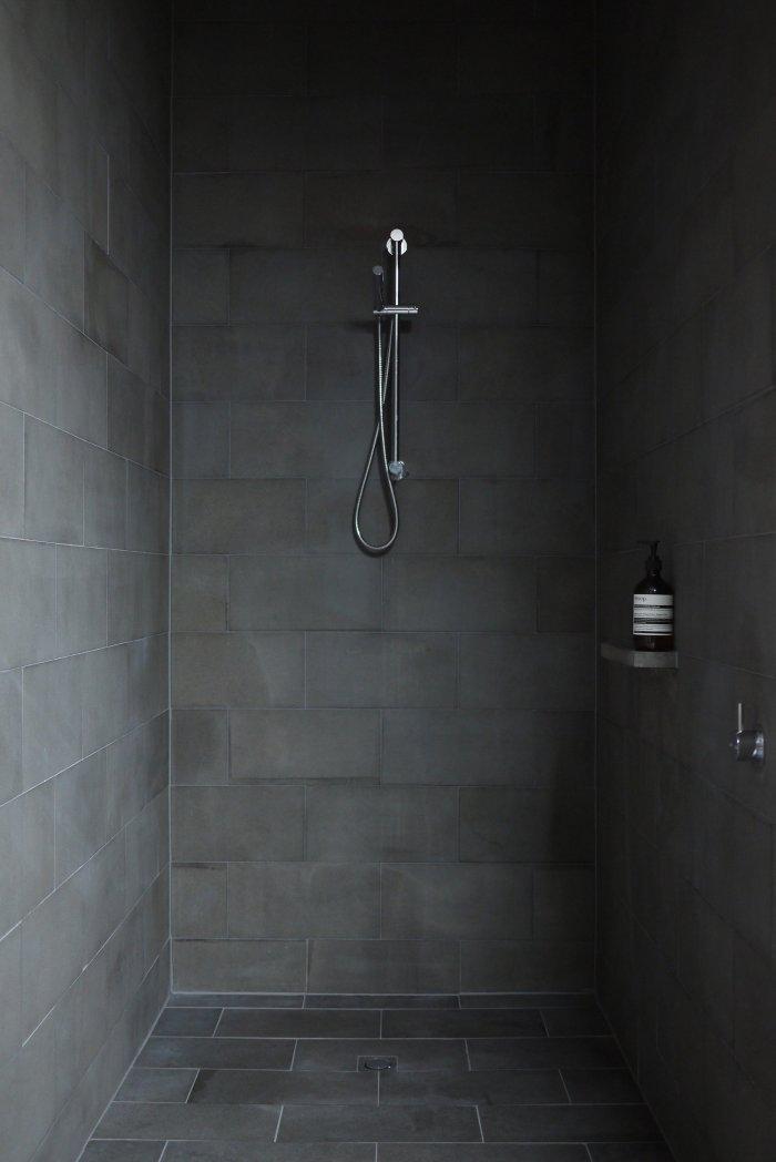 Minimalist Bathroom - Energy Efficient Home Design by Jessica Liew