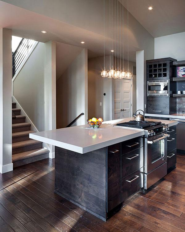 Kitchen - Breathtaking Eclectic Modern House in Oregon, USA