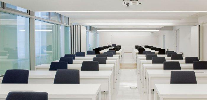 Modern Lecture Room - University of Duesto with Renewed Interior Design