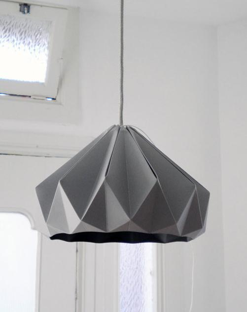 Paper Hanging Lamp - 9 Lovely and Creative Pendant Lighting Designs