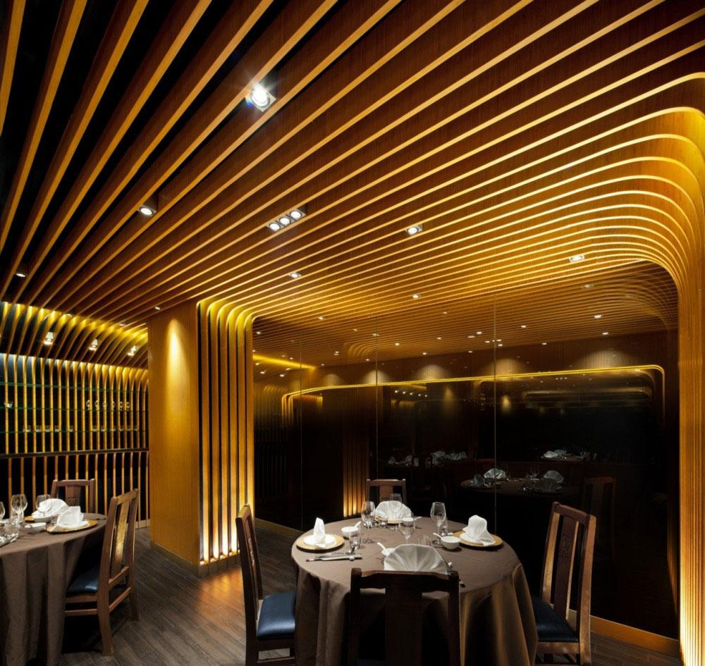 chinese restaurant interior design - pak loh | founterior