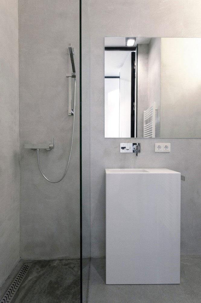 Small Bathroom - Minimalist Apartment Hosting Inspiring Modern Design