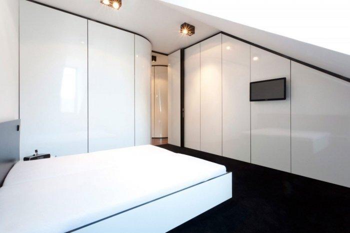 Small Bedroom - Minimalist Apartment Hosting Inspiring Modern Design