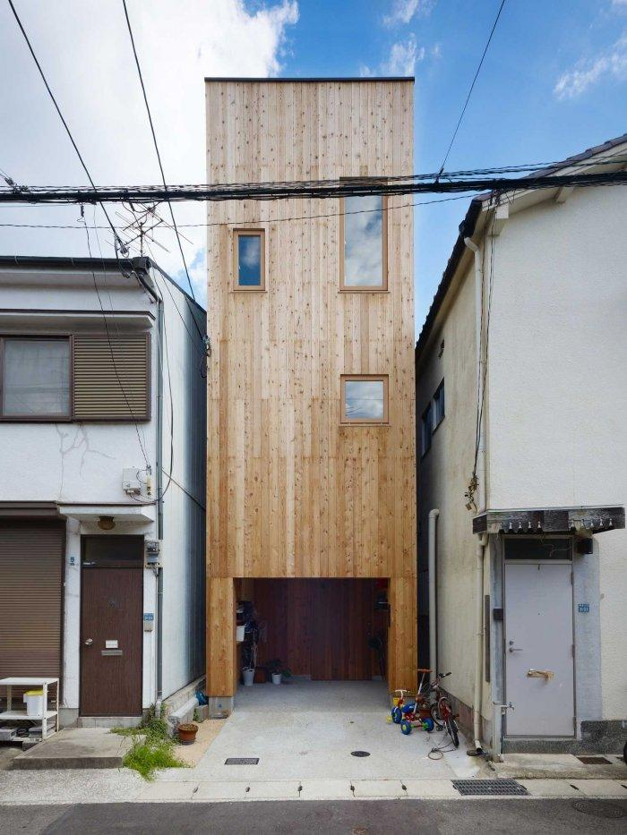 A Tiny House In Nada Japan